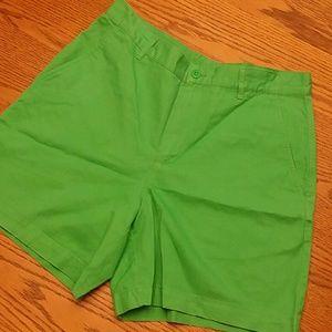 Ralph Lauren green ladies shorts